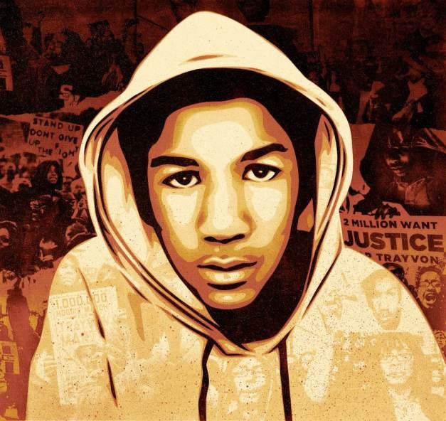 trayvon martin shepard fairey