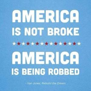 Wealthy racist greedy caucasian males are thieves.